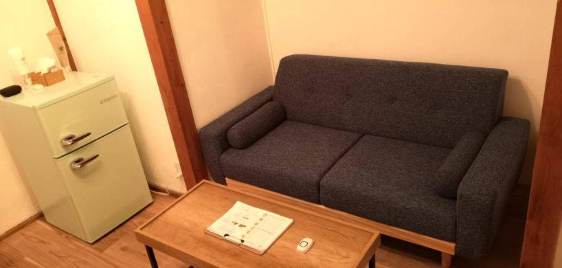 蒲田では珍しいソファ席のあるお店