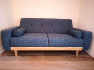 本日届いたばかりのソファ